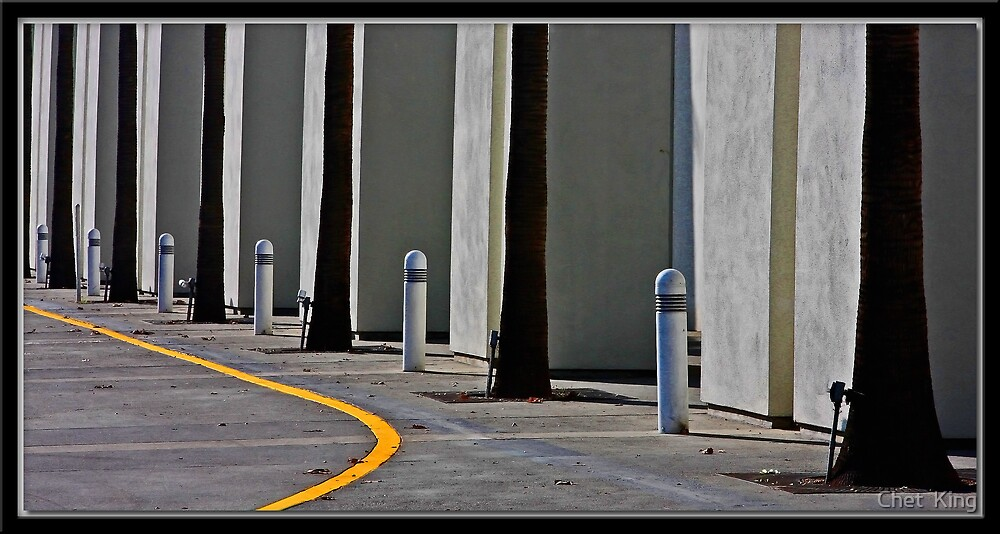 Yellow Line by Chet  King