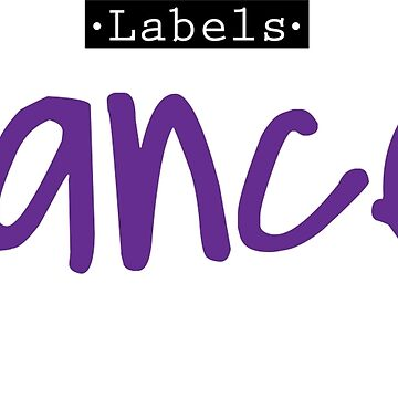 DANCER LABELS by Zapatadsgn