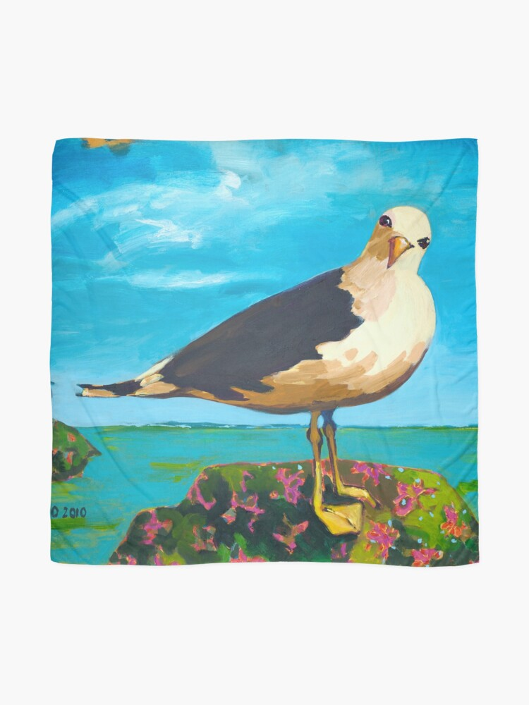 Alternate view of Seagull Scarf