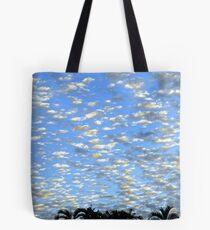 Subtropical winter sky Tote Bag