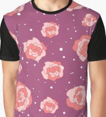 Rose in Wine in the Winter Graphic T-Shirt