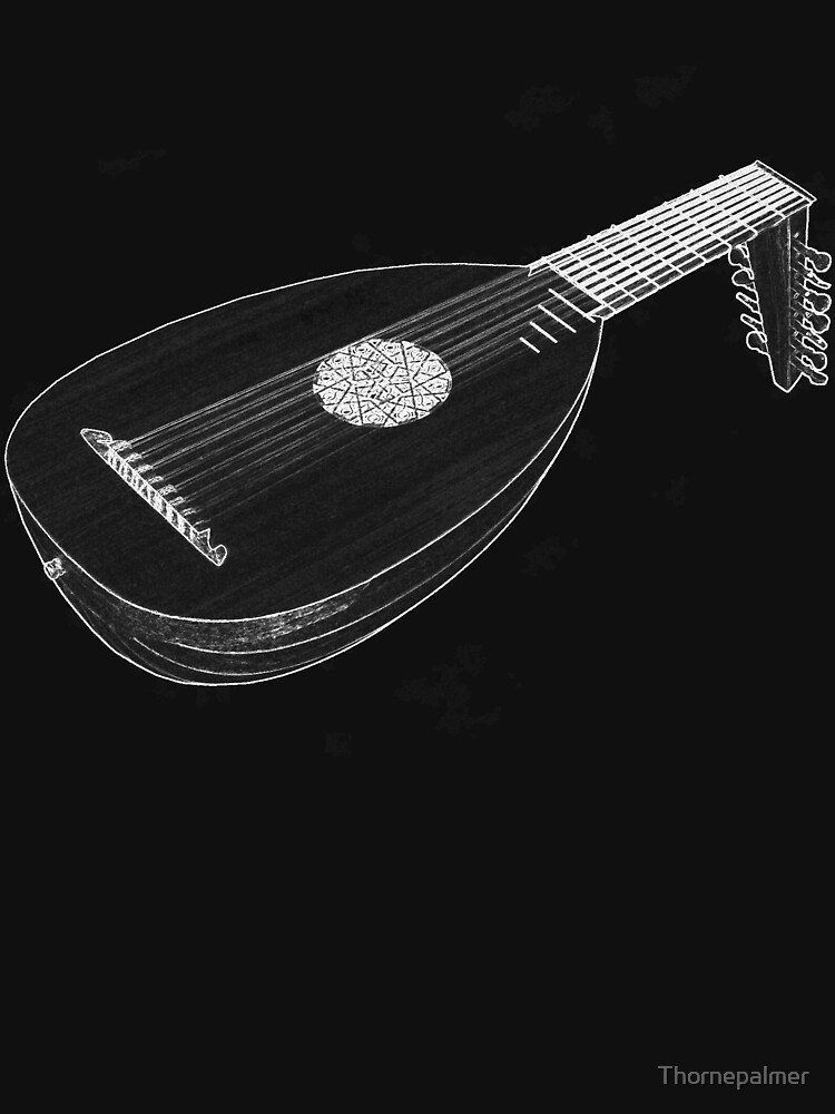 8 Course Renaissance Lute by Thornepalmer