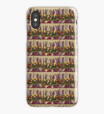 Flowers Along the Wall iPhone Case/Skin