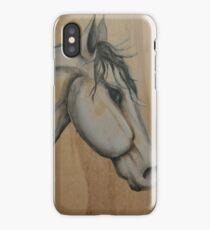 Wooden horse iPhone Case/Skin