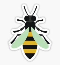 Retro Honey Bee Sticker