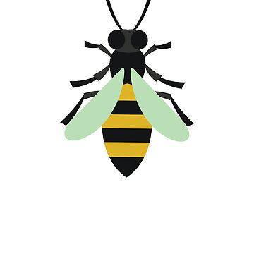Retro Honey Bee by TheNewAntique