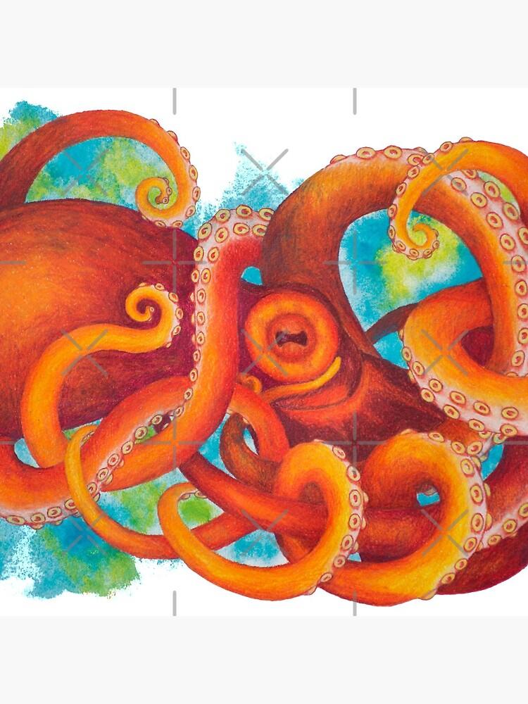 Pulpo naranja de SchwaigerStudio