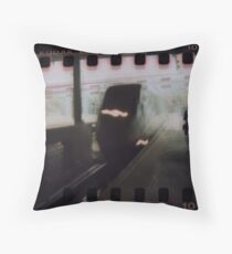 Warped Speed Throw Pillow
