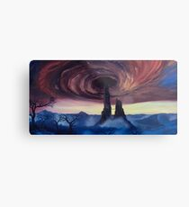 The Vortex - Borderlands 2 Inspired Oil Painting Metal Print