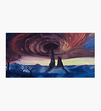 The Vortex - Borderlands 2 Inspired Oil Painting Photographic Print