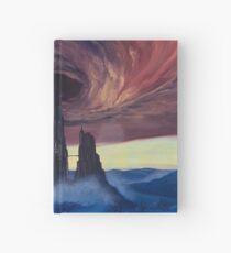 The Vortex - Borderlands 2 Inspired Oil Painting Hardcover Journal