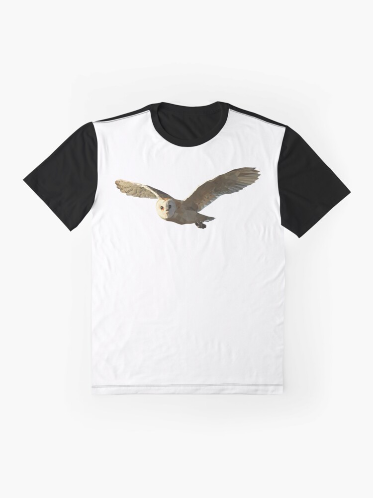 Alternate view of Geometric Owl Graphic T-Shirt