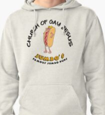 Church Of Gay Jesus Shameless Pullover Hoodie