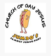 Church Of Gay Jesus Shameless Photographic Print