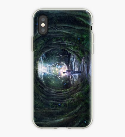 Stay For A Moment iPhone Case
