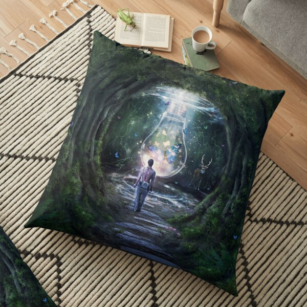 Stay For A Moment Floor Pillow
