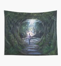 Stay For A Moment Wall Tapestry