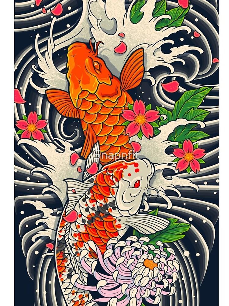 Koi Fish Pond  by Snapnfit