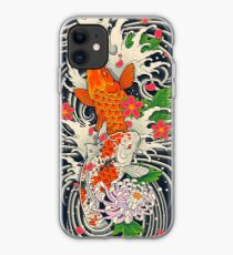 Koi Fischteich iPhone-Hülle & Cover