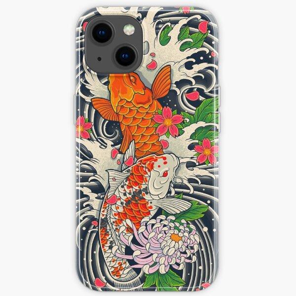 Étang à poissons Koi Coque souple iPhone