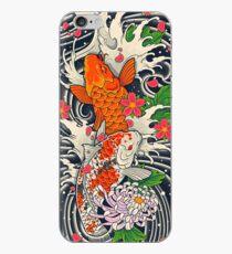 Vinilo o funda para iPhone Estanque de peces Koi
