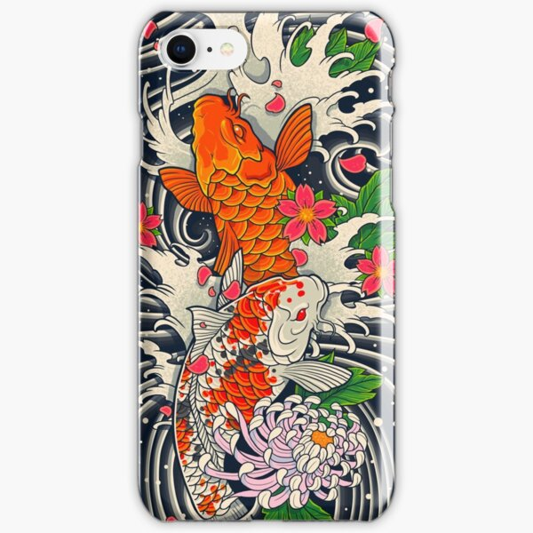 Koi Fish Pond  iPhone Snap Case