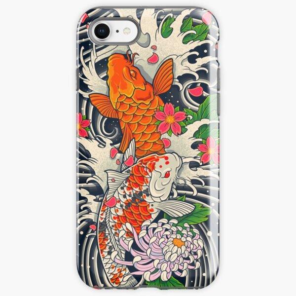 Koi Fish Pond  iPhone Tough Case