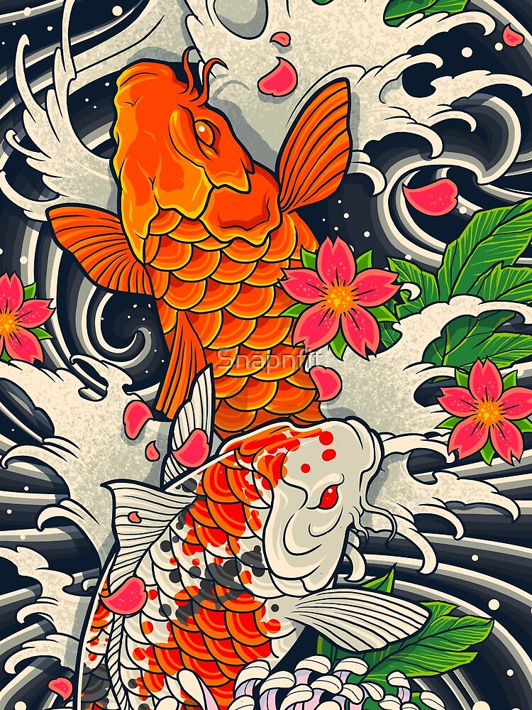 Koi Fish Pond  by Snapnfit