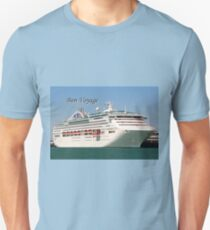 Bon Voyage cruise ship Unisex T-Shirt