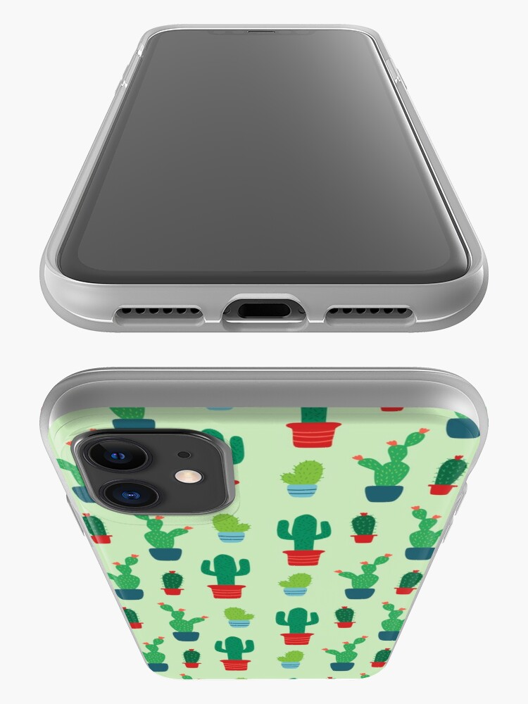 Alternate view of Cactus Love Patterned Print iPhone Case & Cover