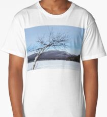 Reaching for the Mountains New Hampshire White Mountains Long T-Shirt