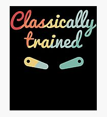 Classically Trained Vintage Pinball Flippers Photographic Print