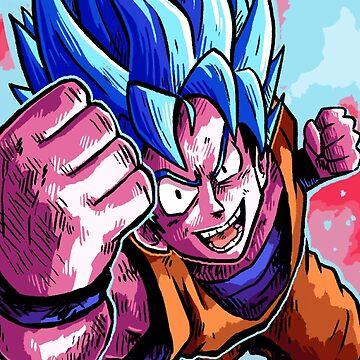 Blue Man Hair by swamitsunami