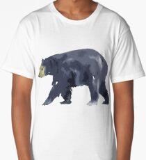 Simplistic Bear Long T-Shirt