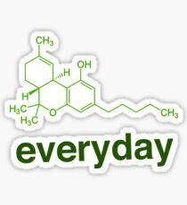 THC Everyday Molecule Sticker
