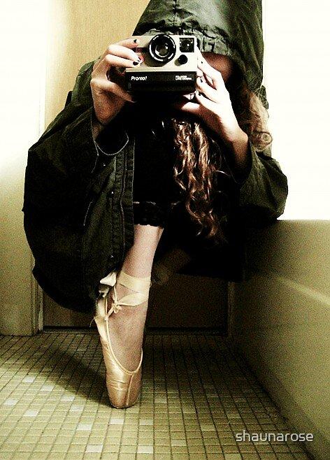 The Mysterious Ballerina Photographer by shaunarose