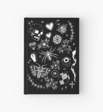 Alle Dinge - Schwarzer Hintergrund Notizbuch