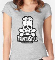 FrankenSkull Women's Fitted Scoop T-Shirt