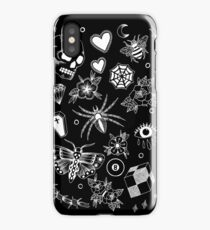 All Things - Black Background iPhone Case/Skin