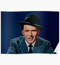 Frank Sinatra painting Poster