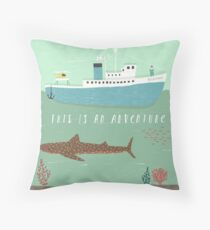 The Belafonte Throw Pillow