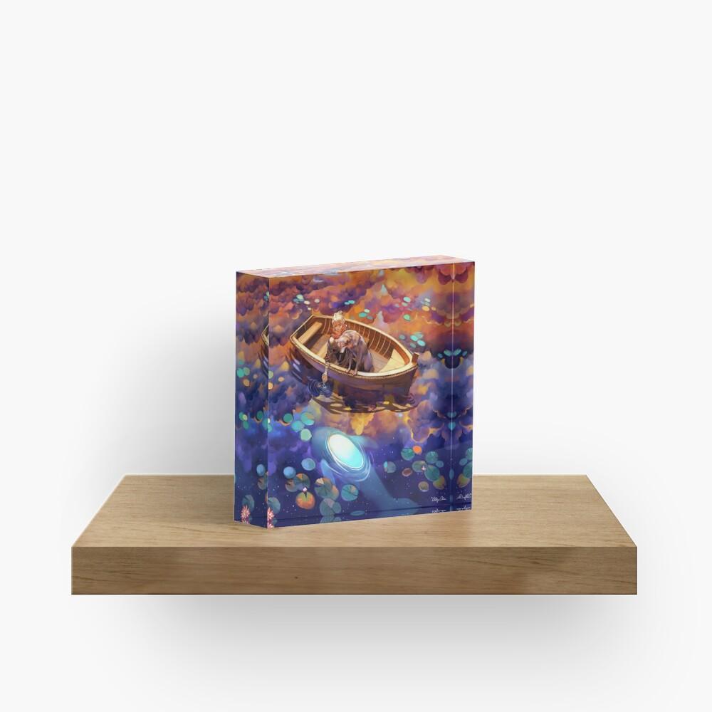 Wander in Wonder Acrylic Block