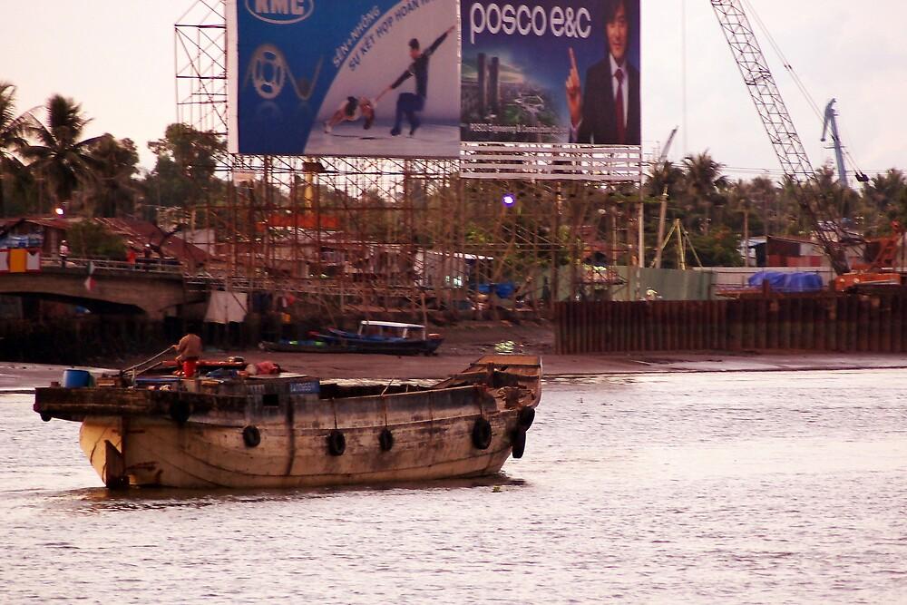 Morning on the Saigon #1 by Daryl Davis
