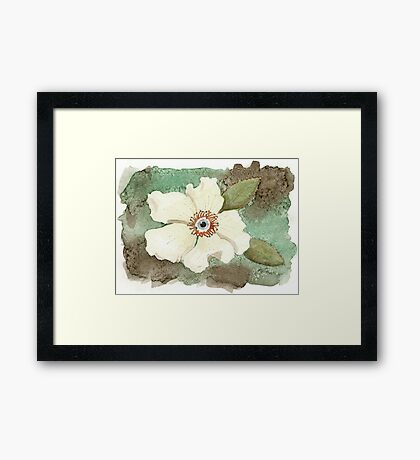 I see you from above Framed Print