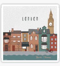 River Thames Sticker