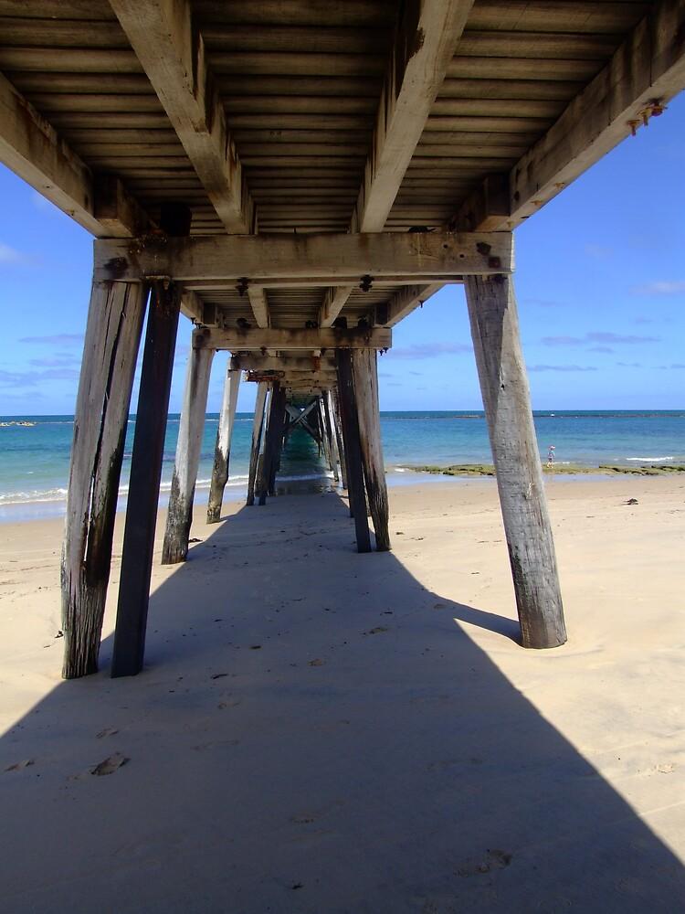 under jetty by Rebekah  Girolamo