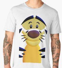 Cute Smiley Cat Men's Premium T-Shirt