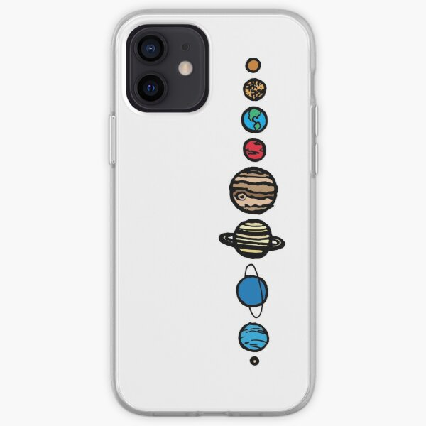 Planets Colour iPhone Soft Case