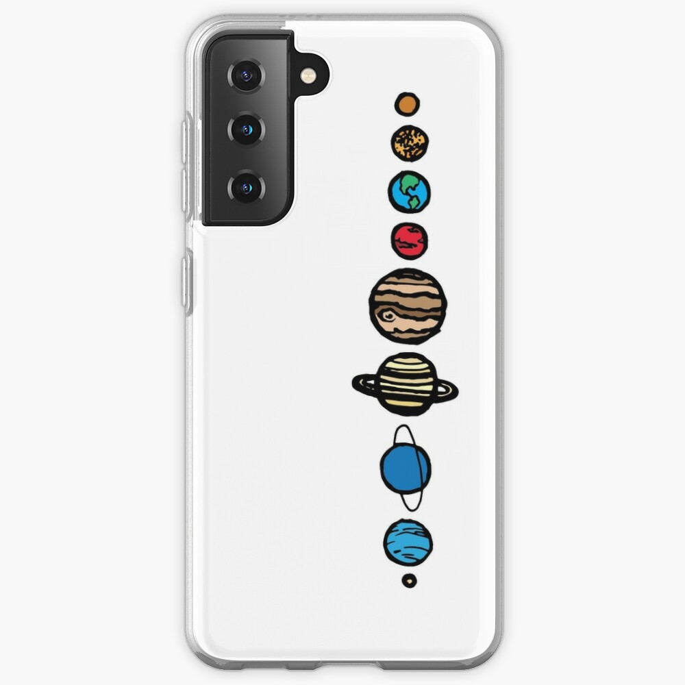 Planets Colour Case & Skin for Samsung Galaxy
