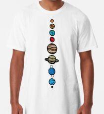 Planets Colour Long T-Shirt